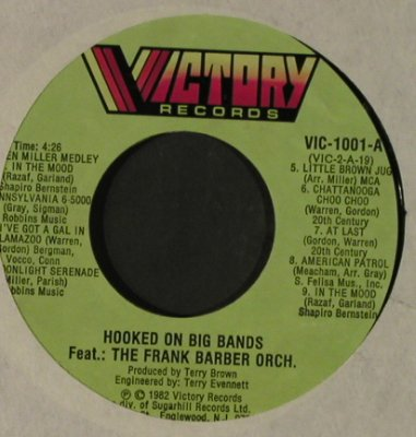 Barber,Frank Orch.: G.Miller-Medley/D.Ellington-Medley, Victory(VIC-1001), US, LC, 1982 - 7inch - T2303 - 2,50 Euro
