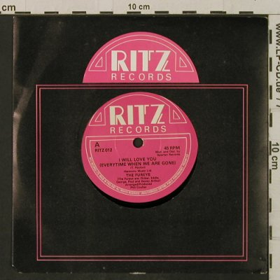 Fureys, The: I Will Love You, FLC, m-/vg+, Ritz(RITZ 012), UK,  - 7inch - T2307 - 2,00 Euro