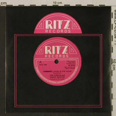 Fureys, The & Davey Arthur: Now Is The Hour/Tomorrow We Part, Ritz(RITZ 045), UK,  - 7inch - T2308 - 2,50 Euro