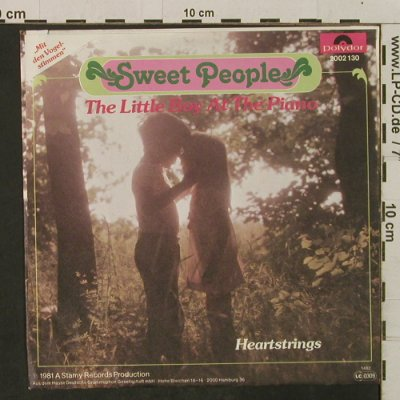 Sweet People: TheLittleBoyAtThePiano/Heartstrings, Polydor(2002 130), D, 1981 - 7inch - T2311 - 2,00 Euro