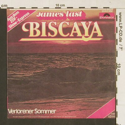 Last,James: Biscaya, Polydor(2042352), D, 1981 - 7inch - T299 - 2,00 Euro