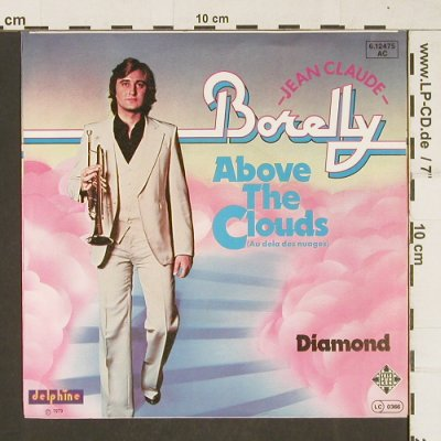 Borelly,Jean-Claude: Above The Clouds, Telefunken(6.12475 AC), D, 1979 - 7inch - T301 - 2,00 Euro