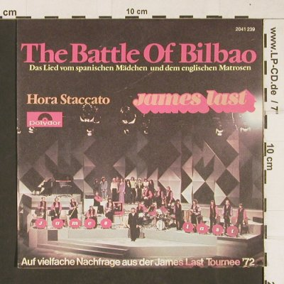 Last,James: The Battle Of Bilbao/Hora Staccato, Polydor(2041 239), D, 1972 - 7inch - T307 - 3,00 Euro
