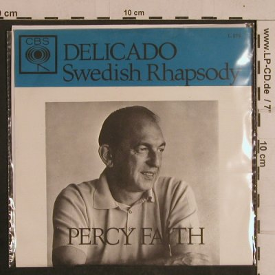 Faith,Percy: Delicado / Swedish Rhapsody, CBS(1.276), NL,  - 7inch - T4409 - 3,00 Euro