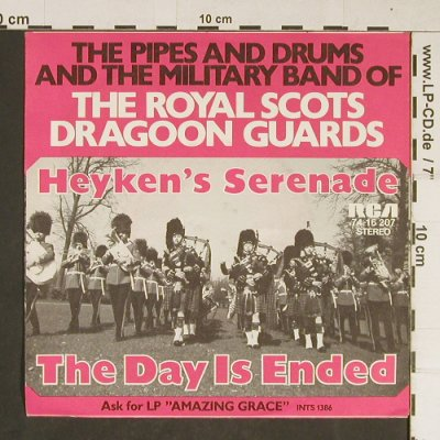 Royal Scots Dragoon Guards: Heyken's Serenade, RCA(74-16 207), D, 1972 - 7inch - T771 - 3,00 Euro