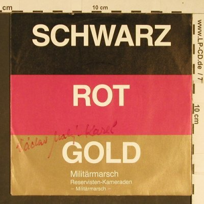 Maly-Karel,Vaclav: Schwarz-Rot-Gold, Autogramm, (1003), D,  - 7inch - T773 - 3,00 Euro