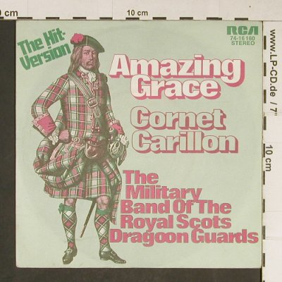Royal Scots Dragoon Guards: Amazing Grace, RCA(74-16 160), D, 1972 - 7inch - T790 - 2,50 Euro