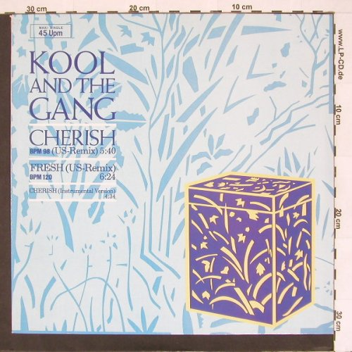 Kool & The Gang: Cherish*2+1, De-Lite(883 118-1 ME), D, 1985 - 12inch - A3290 - 4,00 Euro