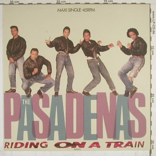 Pasadenas: Riding On A Train*2+1, CBS(), NL, 88 - 12inch - A3382 - 2,50 Euro
