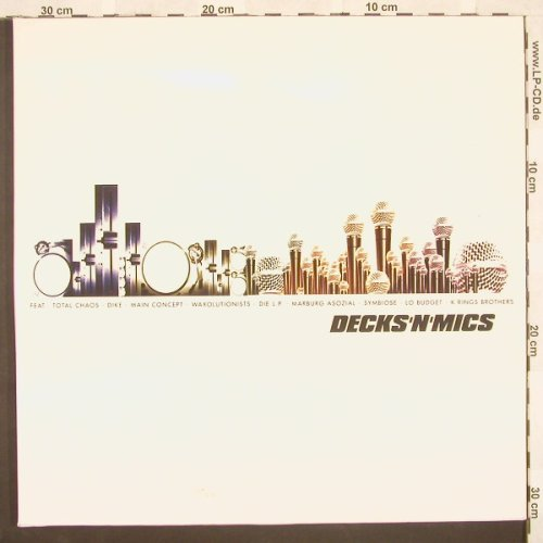 V.A.Decks'n'Mics: feat.Total Chaos..,Foc, Deck8(), , 00 - 2LP - A4117 - 11,50 Euro