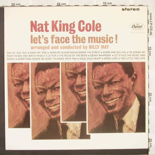 Cole,Nat King: Let's Face The Music(62),Ri, Capitol(), US, 86 - LP - A4697 - 7,50 Euro