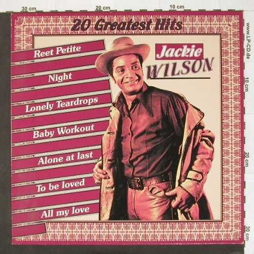 Wilson,Jackie: 20 Greatest Hits, BR.Music(BRLP 48), B,  - LP - A5740 - 4,00 Euro