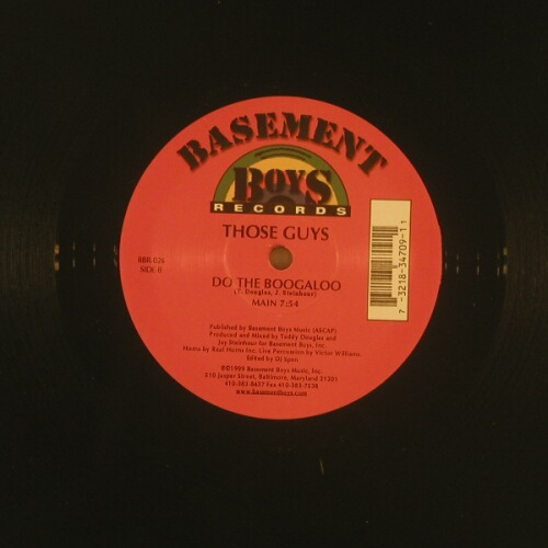 Those Guys: Do the Boogaloo+2, Basm.B.(BBR-026), US,  - 12inch - A6520 - 4,00 Euro