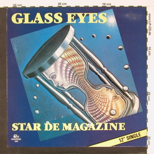 Glass Eyes: Star de Magazine, Ramshorn(3268), NL, 83 - 12inch - A6702 - 4,00 Euro