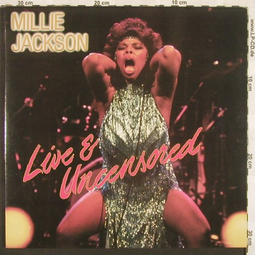 Jackson,Millie: Live & Uncensored,Foc, Important(TAD LP 001), UK, 85 - 2LP - A7206 - 10,00 Euro
