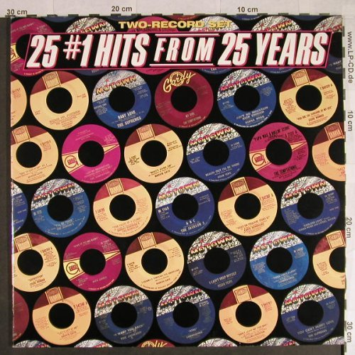 V.A.25 #1 Hits From 25 Years: 25 Tr.,Foc, Motown(310 15 003), D, 83 - 2LP - A8021 - 7,50 Euro