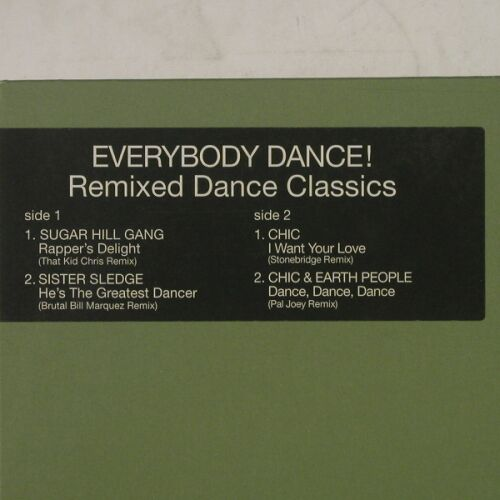V.A.Everybody Dance!: Remixed Dance Classics, 4Tr., Atl./Rhino(), , 98 - 12inch - A8775 - 5,00 Euro