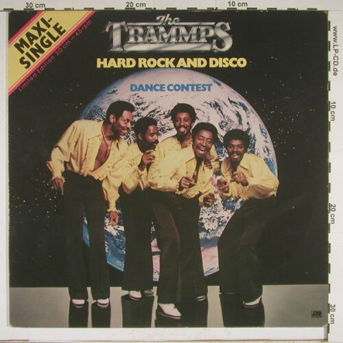 Trammps: Hard Rock+disco / Danc Contest, Atlantic(20 207), D, 80 - 12inch - A8949 - 5,00 Euro