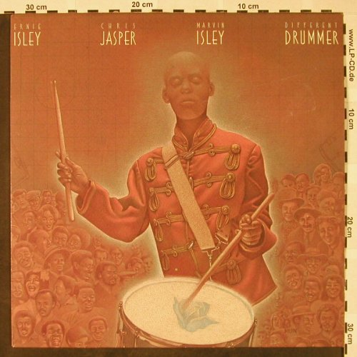 Isley Jasper Isley: Different Drummer, Epic(450 143), NL, 1987 - LP - A8975 - 5,00 Euro