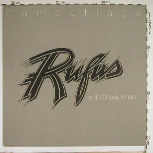 Rufus with Chaka Khan: Camouflage, MCA(204 205), D, 81 - LP - A8978 - 5,00 Euro