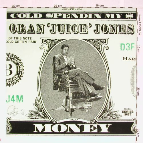 Oran'Juice'Jones: Cold Spendin'My Money, Def Jam(), NL, 87 - 12inch - A9119 - 3,00 Euro