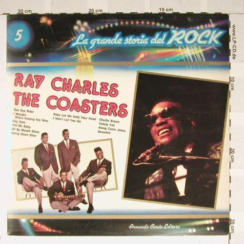 Charles,Ray & The Coasters: La Grande Storia Del Rock 5,Foc, ACE(), I,  - LP - B2062 - 4,00 Euro