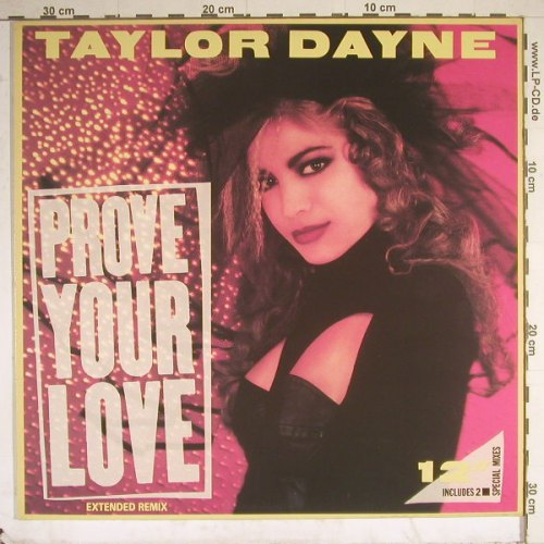 Dayne,Taylor: Prove Your Love*2+1, Arista(609 830), D, 88 - 12inch - B2550 - 2,50 Euro