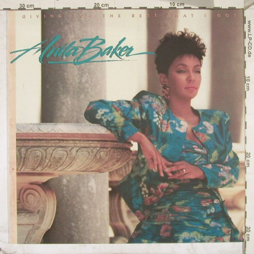 Baker,Anita: Giving You The Best That I Got, Elektra(960 827-1), D, 88 - LP - B2708 - 5,50 Euro
