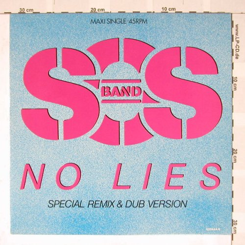 S.O.S. Band: No Lies*2, Tabu(650444 6), NL, 86 - 12inch - B3374 - 4,00 Euro