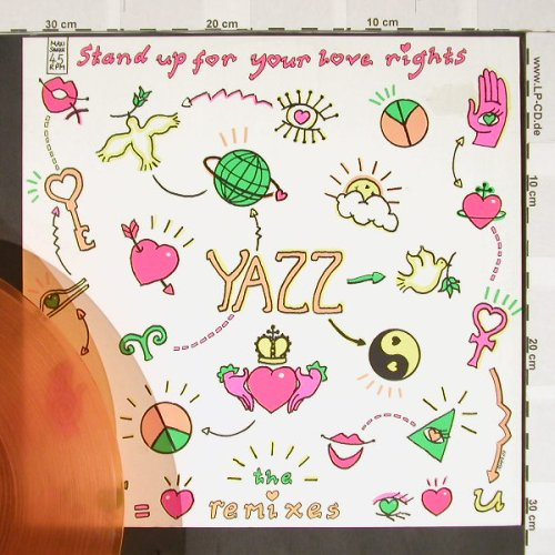Yazz: Stand Up For Your Love Rights *2, Blow Up(INT 125.752), D,oraVinyl, 88 - 12inch - B3701 - 3,00 Euro