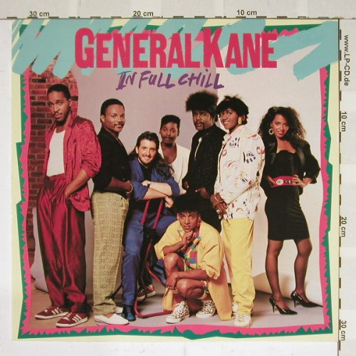General Kane: In Full Chill, Motown(ZL72538), D, 86 - LP - B3862 - 5,00 Euro