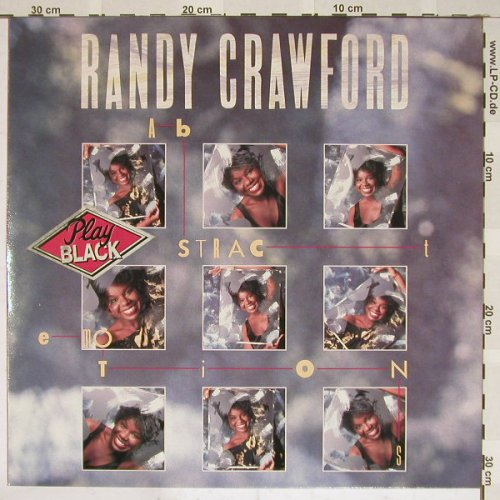 Crawford,Randy: Abstract Emotions, WEA(925 423-1), D, 86 - LP - B3898 - 5,00 Euro