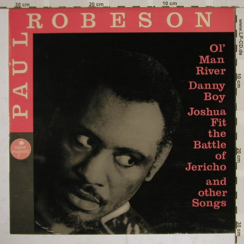 Robeson,Paul with Chor and Orch.: Same, SuperMaj.(BBH 1670), F, 65 - LP - B4348 - 6,00 Euro