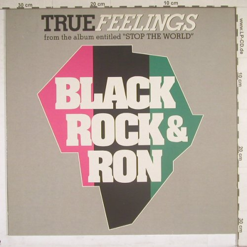 Black,Rock & Ron: True Feelings*6, Widder(572 46 091 AD), D, 89 - 12inch - B4579 - 4,00 Euro
