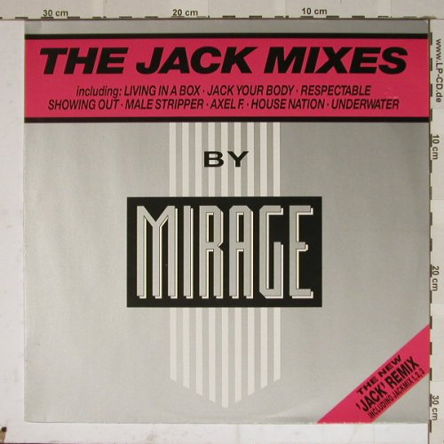 Mirage: The Jack Mixes, 4 Tr, BCM(12-2009-40), D,  - 12inch - B4706 - 4,00 Euro