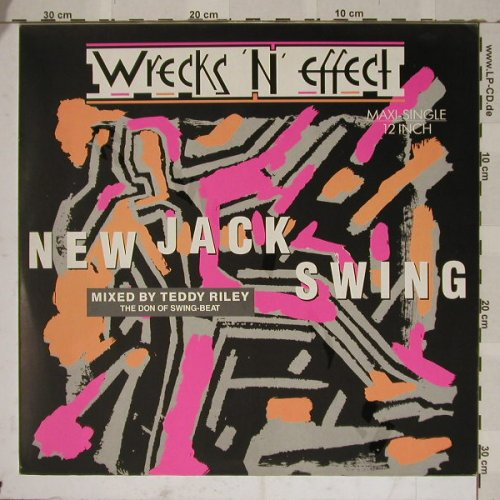 Wrecks'n'Effect: New Jack Swing*3(mx Teddy Riley), Motown(ZT 43148), D, 89 - 12inch - B4826 - 5,00 Euro