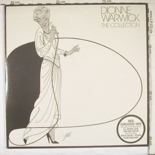 Warwick,Dionne: The Collection,Foc, Arista(DIONE I), UK, 83 - 2LP - B4847 - 7,50 Euro