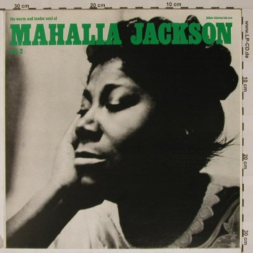 Jackson,Mahalia: The Warm And Tender Soul Of, Vol.2, Joker(SM 3610), I, 73 - LP - B5373 - 5,00 Euro