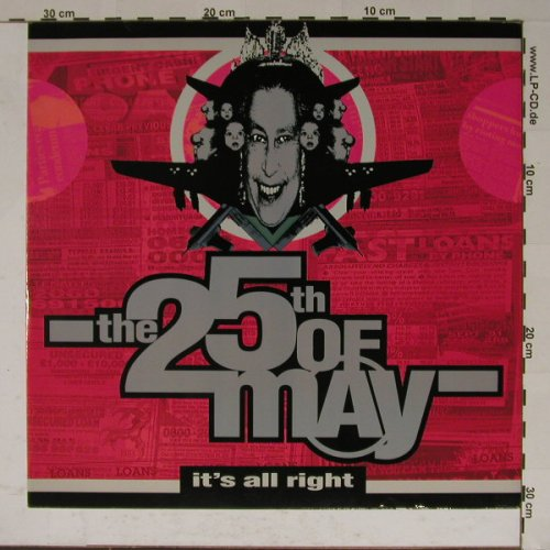 25th of May: It't all right*3,HysteriaMix,Facts, Arista(614 442), D, 91 - 12inch - B5851 - 6,00 Euro