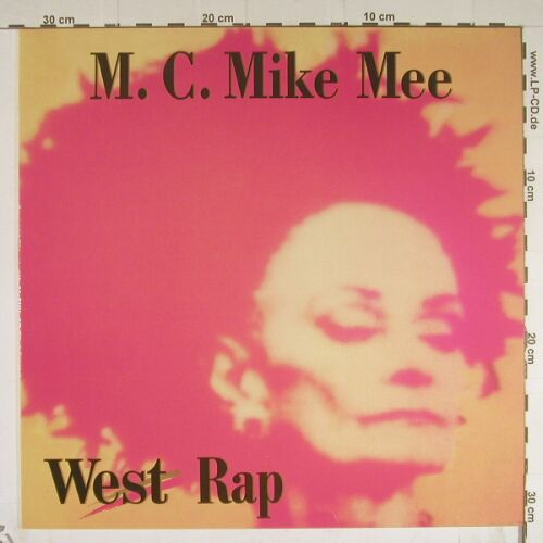 M.C.Mike Mee: West Rap*2+1, DasStudio(), D,  - 12inch - B591 - 4,00 Euro