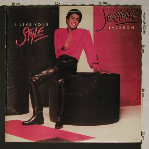 Jackson,Jermaine: I like your Style, Motown(IM-46056), P, 81 - LP - B5972 - 7,50 Euro