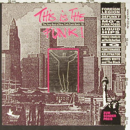 V.A.This Is The Funk: N.Y.Funk'86, Nektar(680.014), D, 86 - LP - B7140 - 5,00 Euro