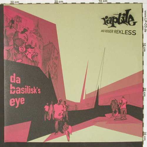 Raptile and Roger Rekless: My Style is free., Sub World(), EU, 01 - 2LP - B8045 - 14,00 Euro