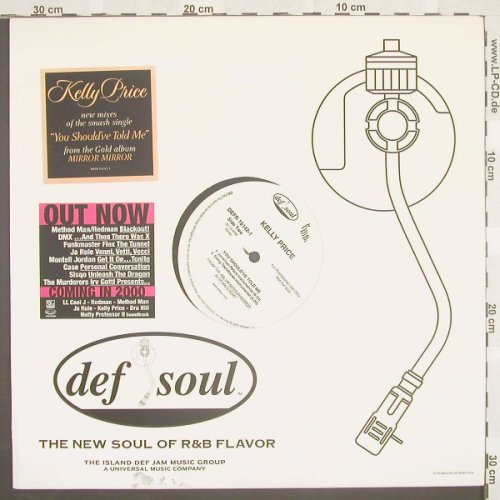 Price,Kelly: You Shoul've Told Me*4,Flc,Promo, DefSoul(DEFR 15142-1), US, 02 - 12inch - B8747 - 4,00 Euro