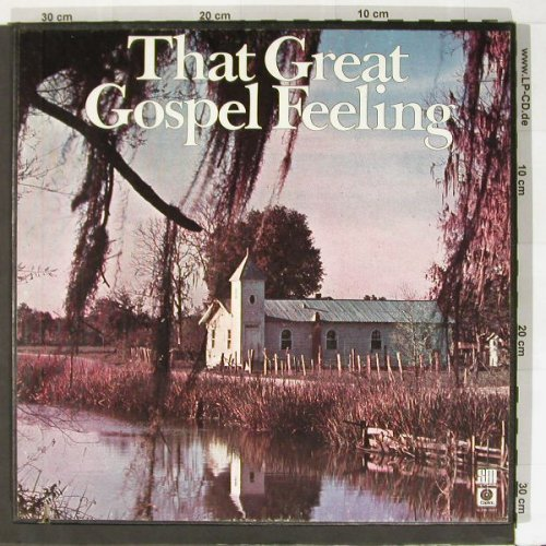 V.A.That Great Gospel Feeling: Feeling, Box, co, Capitol(SLFR-8089), US, 77 - 6LP - B8850 - 14,00 Euro