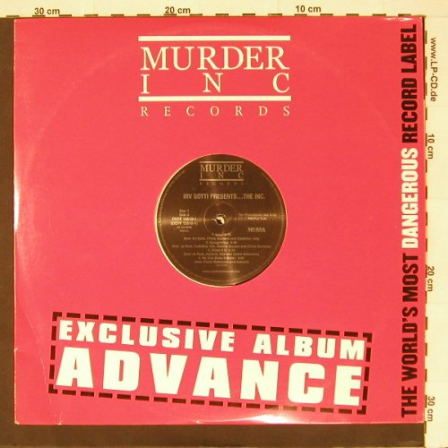 Irv Gotti: Presents...The Inc.,Flc,Promo, MurderInc.(DEFF 15619-1), US, 02 - 2LP - B9239 - 9,00 Euro
