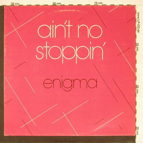 Enigma: Ain't No Stoppin', mix, 4 Tr., Creole(), D, 81 - LP - B9271 - 5,00 Euro