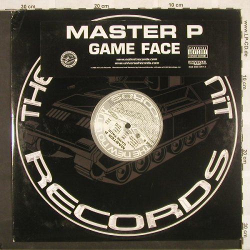 Master P: Game Face,Promo, NewNoLimit(), US, 01 - LP - B9414 - 6,00 Euro