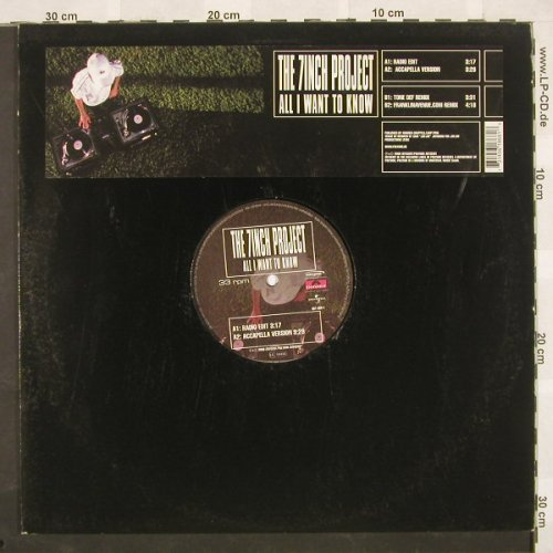 7Inch Project: All I Want To Know*4, Zeitgeist(), D, 00 - 12inch - B9452 - 4,00 Euro