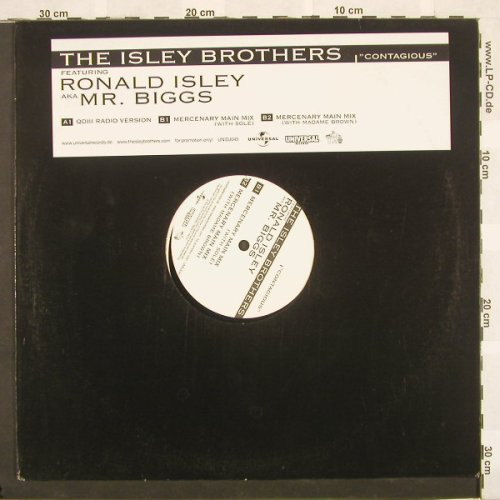 Isley Brothers: Contagious*3, LC,Promo, Universal(), EU,  - 12inch - B9520 - 4,00 Euro